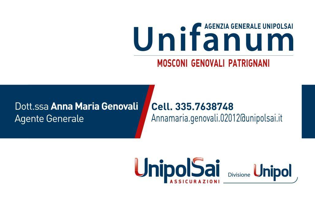 biglietto visita unifanum genovali