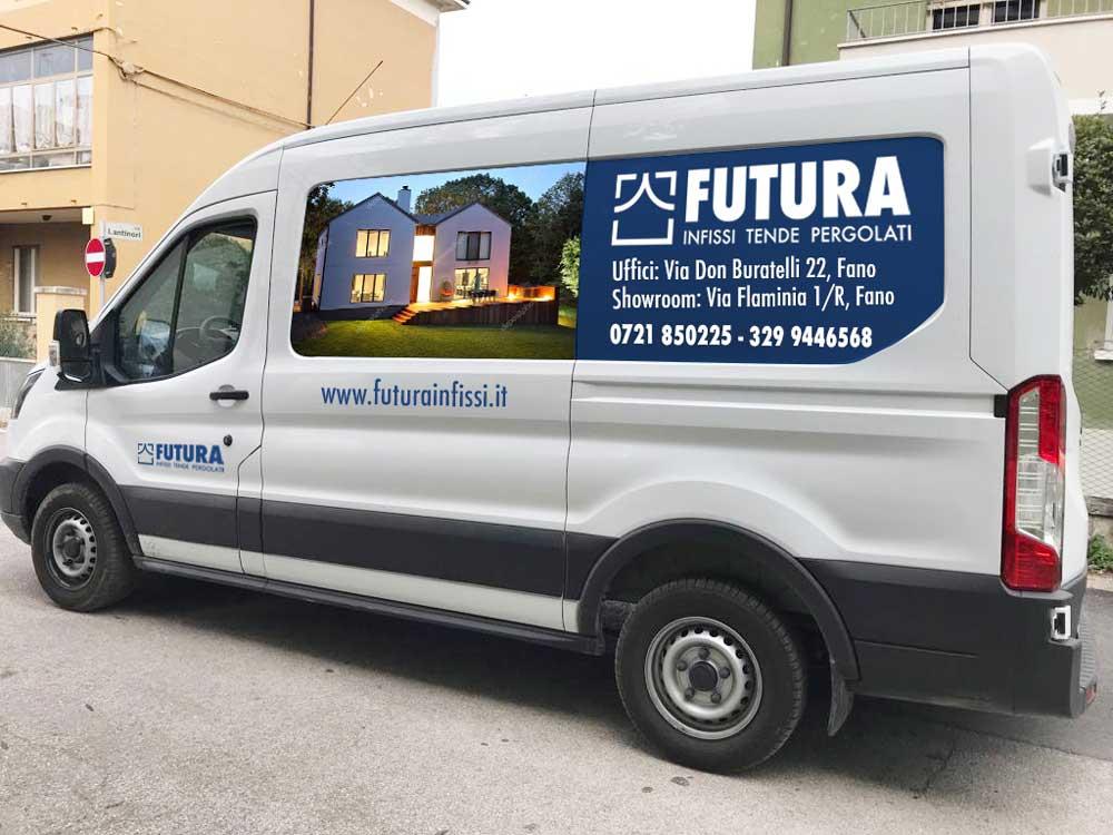 futura infissi furgone laterale