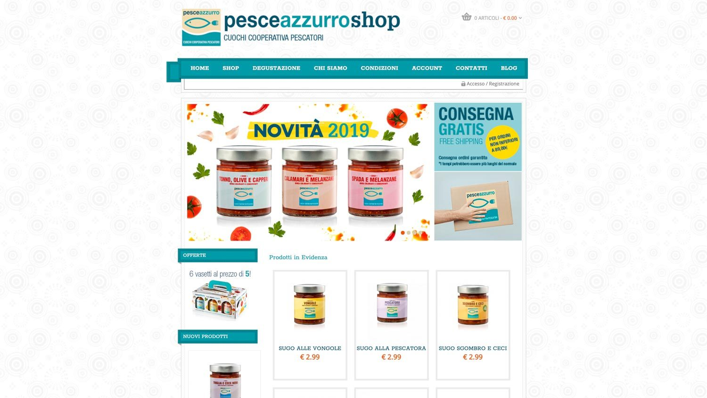 Pesceazzurro shop