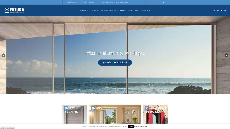 sito web futura infissi